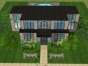Modern sim house by Chocolatewaffles659