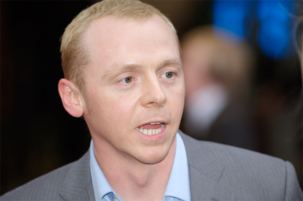 peggs chatrooms Simon pegg's hair discussion in 'men's general hair loss discussions' started by a1e, aug 9, 2011.