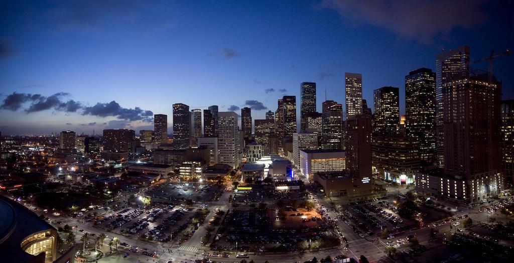 Houston Skyline By Noelholland