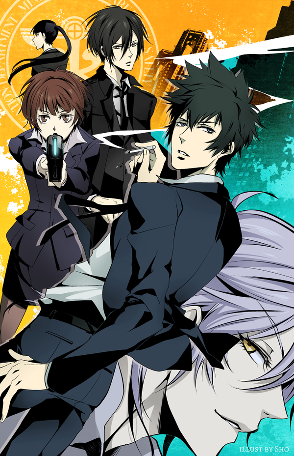 Psycho Pass: Divide by SnakeyHoHo