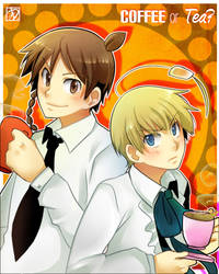 .Coffee or Tea?. by akimaro