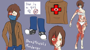 [CP OC Reference Sheet] Bloodthirsty Murderer