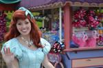 Ariel walking by