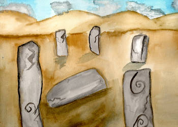 Stone Circle by Muireannpendrgon