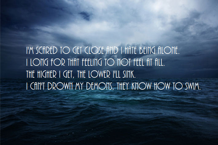 BMTH Lyrics Wallpaper By GreenEyedAng3l
