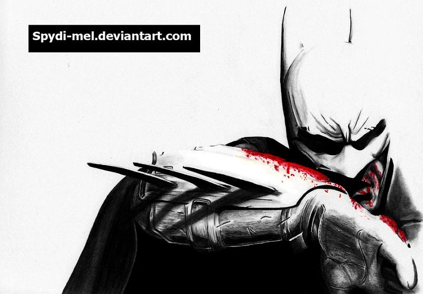 Batman Arkham City by Spydi-mel