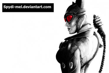 Catwoman Arkham City by Spydi-mel