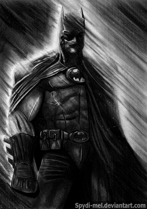 David Finch's Batman the Dark Knight by Spydi-mel