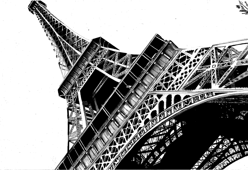V's Eiffel by Spydi-mel