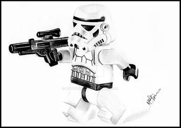 Lego storm trooper by Spydi-mel