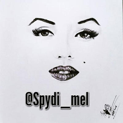 Marilyn Monroe minimal pencil  by Spydi-mel