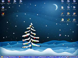 Christmas Desktop by Artic-Blast