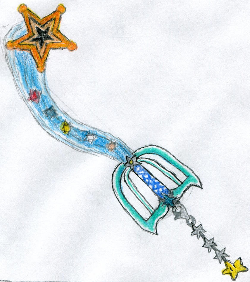 Galaxy wonder keyblade by jacksonswordsman on deviantart for Galactic wonder