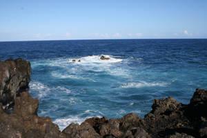 Deep Blue Sea Stock by hyannah77-stock