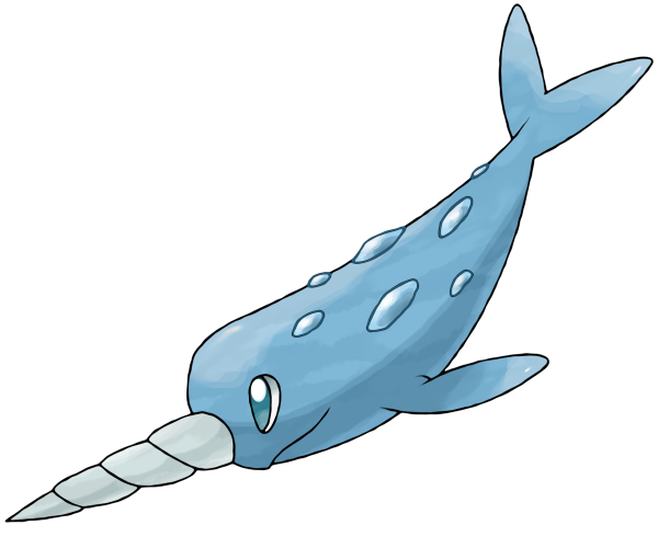 Narwhal Fakemon (by LeavyHeart) by YuutoNing on DeviantArt