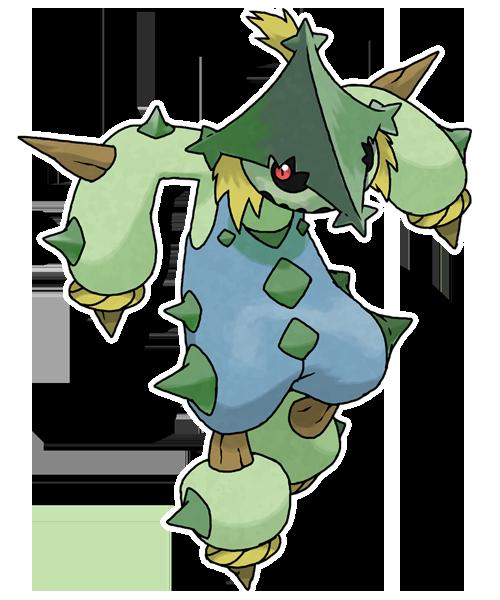 Mega Cacturne (FAN-MADE) by pokeluka