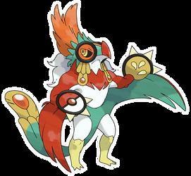 Mega Hawlucha (FAN-MADE)