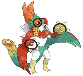 Mega Hawlucha (FAN-MADE) by pokeluka