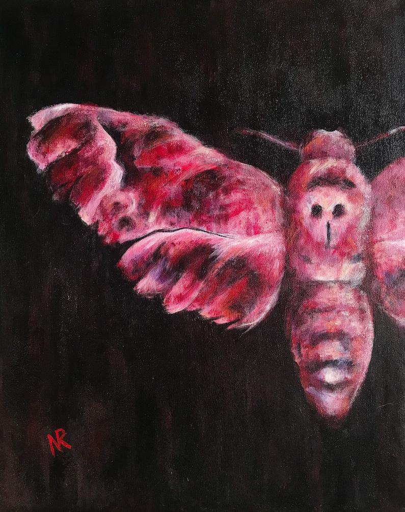 Mothra  by nikoletteseraphine