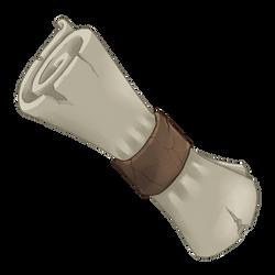 Worn Scroll