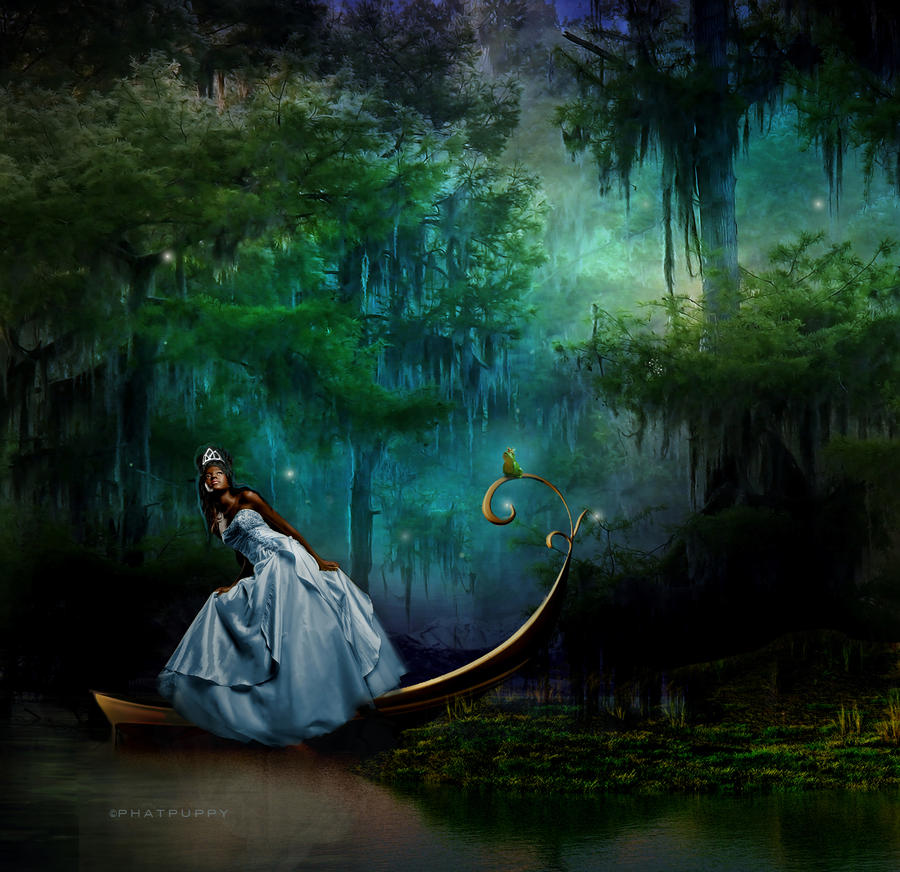 http://fc05.deviantart.net/fs70/i/2010/044/9/d/Princess_and_the_Frog_by_phatpuppy.jpg