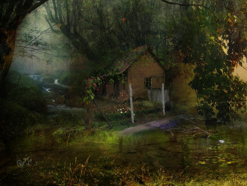 Stare kuće Hideaway_by_phatpuppy