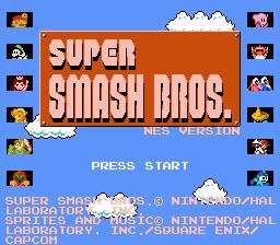 Super Smash Bros NES by pyitoechito