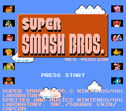 Super Smash Bros NES by pyitoechito