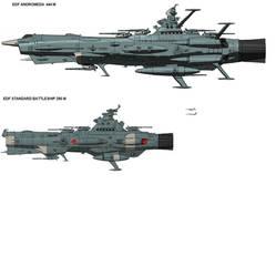 enhanced EDF ships by ussiowa9