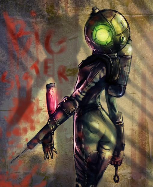 Bioshock Big Sister 2 1200x1000 Wallpapers Video Games Desktop Background Source Wallpaper Directory