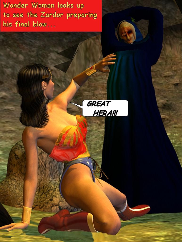 Wonder Woman Defeated Deviantart Wonder woman zardor fight 4 by