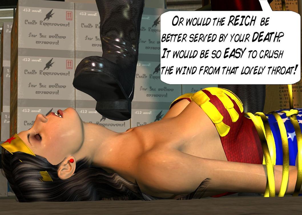 Wonder Woman Defeated Deviantart Defeated