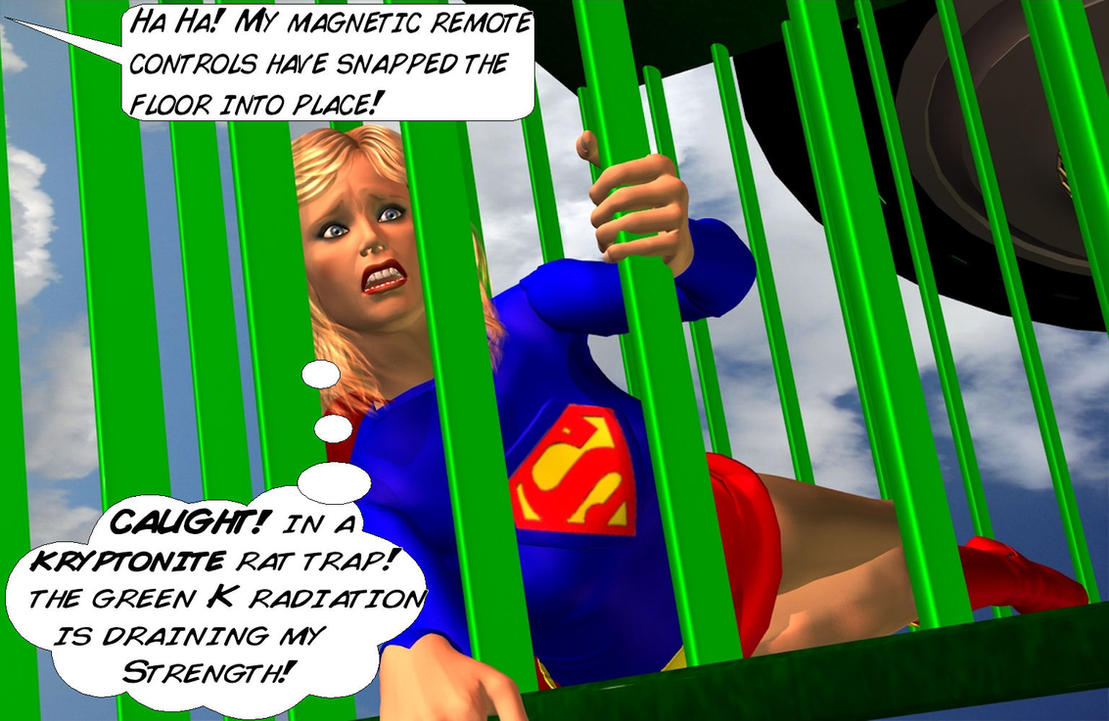 Brainiac's Trap for Supergirl 4 by CaptainZammo
