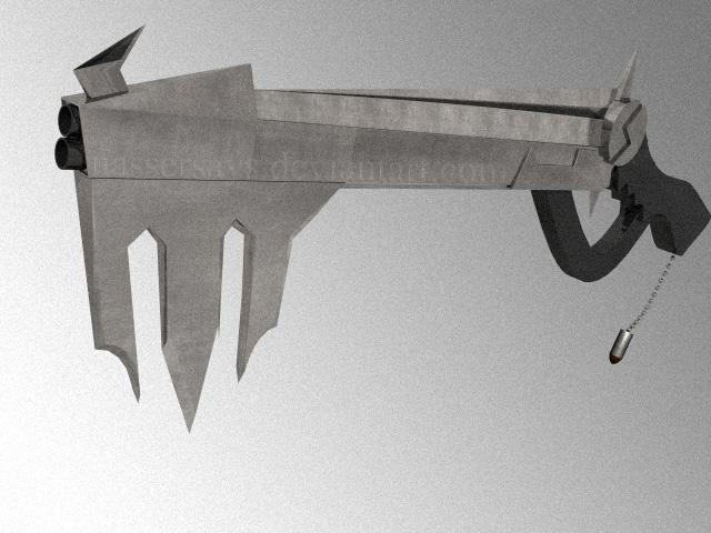 entry battle....cmon...bring it Gun_Keyblade_by_nassersays