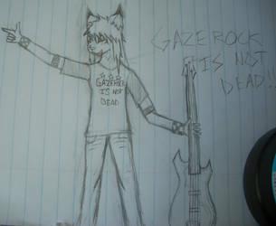 GazeRock is not Dead - Sketch by Doomy-Da-Irken