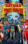 Batman and the power rangers outsiders homage