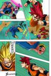 Son Goku vs Saganbo -DBS Chapitre 50-