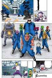 Saganbo and Prisoners escape/Dragon Ball Super 50