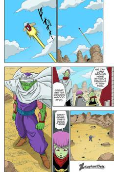Piccolo vs Macareni family -Dragon Ball Super 52-