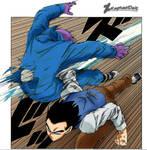 Son Gohan vs Seven Three -Dragon Ball Super 54-