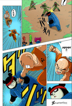 Krillin vs Yunba -Dragon Ball Super 56-