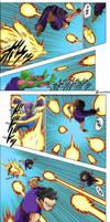Gohan and Piccolo vs Seven Three Round 2 -DBS 56