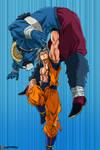 Son Goku MUI vs Moro -Dragon Ball Super 64-