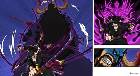 Zoro Ashura vs Kaido - One Piece 1010- v2