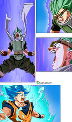 Son Goku vs Granola -Dragon Ball Super 72-