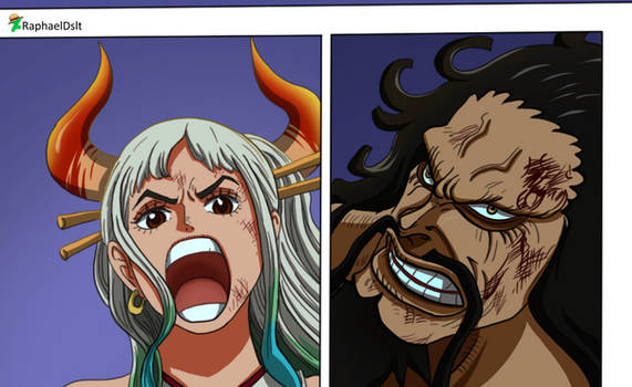 Yamato and Kaido -One Piece 1015-