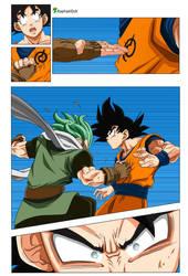 Granola beats Goku -Dragon Ball Super 73-