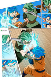Son Goku SSJB vs Granola -Dragon Ball Super 73-