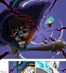 Kaido vs Yamato -ONE PIECE 1024-