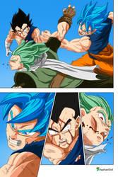 Son Goku saves Vegeta from Granola -DBS 76-